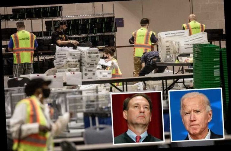Supreme Court rules late Pennsylvania ballots be counted SEPARATELY as mainly pro-Biden votes may be tossed out
