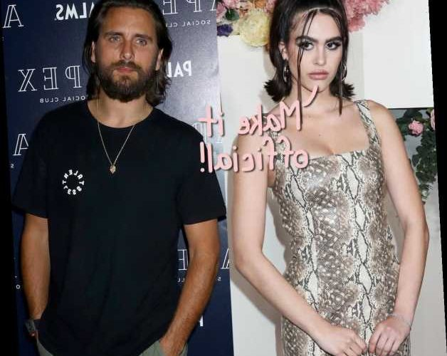 Scott Disick & 19-Year-Old Amelia Hamlin All Over Each Other In New Beach Pics – This Couple Is ON!