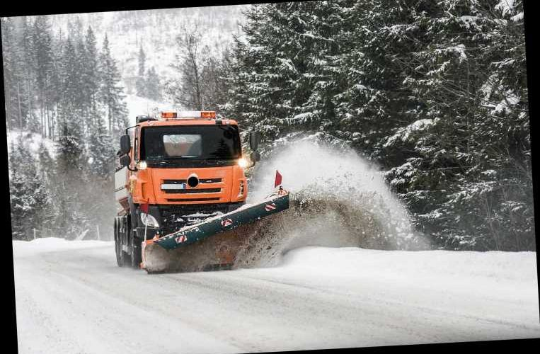 California snowplow driver uncovers bodies of two homicide victims