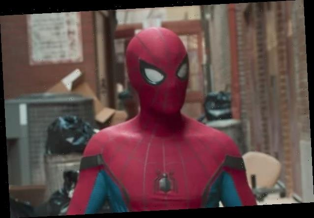 Tom Holland Shares First Photo From 'Spider-Man 3' Set