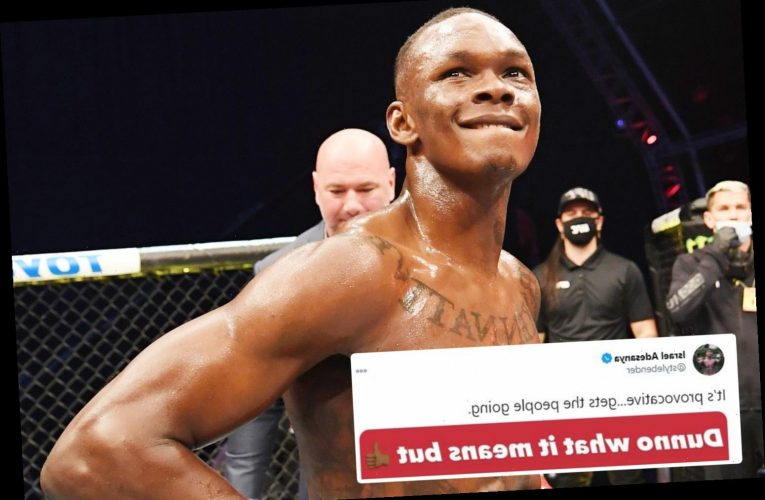 Israel Adesanya named top of UFC power rankings ahead of Khabib and McGregor but admits 'I don't know what it means'