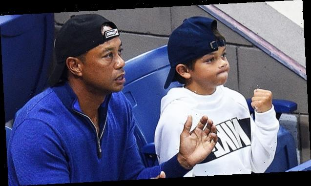 Tiger Woods Ready To Play 1st Golf Tournament With Look-A-Like Son Charlie, 11: I'm 'Excited'