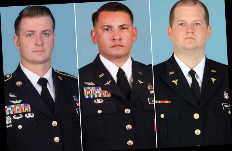 Army IDs soldiers killed in helicopter crash in Egypt