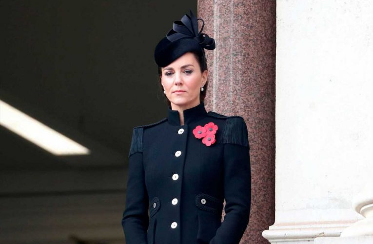 Duchess of Cambridge Dons McQueen for Low-Key Remembrance Sunday