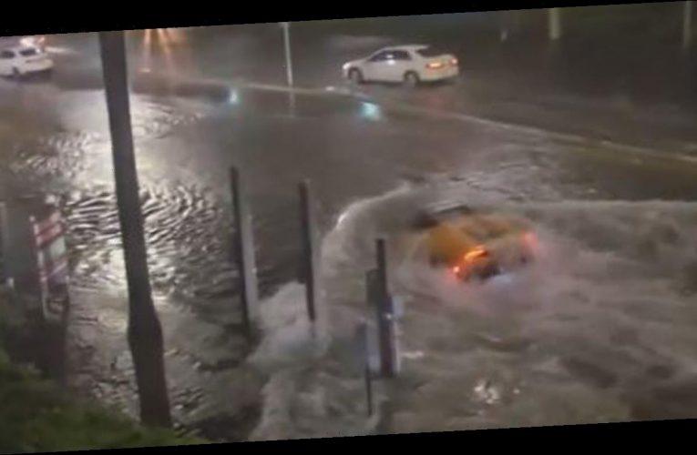 Tropical Storm Eta turns Florida streets into rivers, Lamborghini spotted as 'submarine'