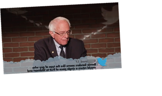 Bernie Sanders, Elizabeth Warren and More Read 'Mean Tweets' on 'JKL'