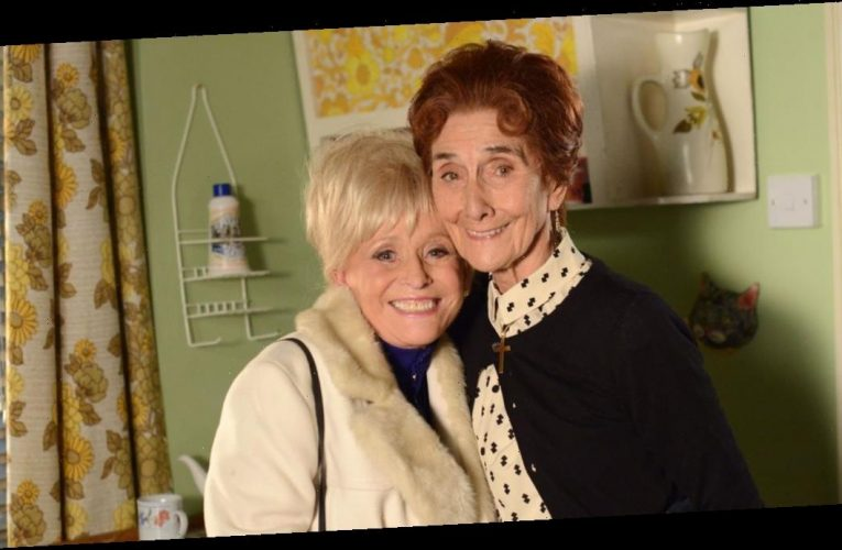 June Brown describes her final phone call with Barbara Windsor before she died