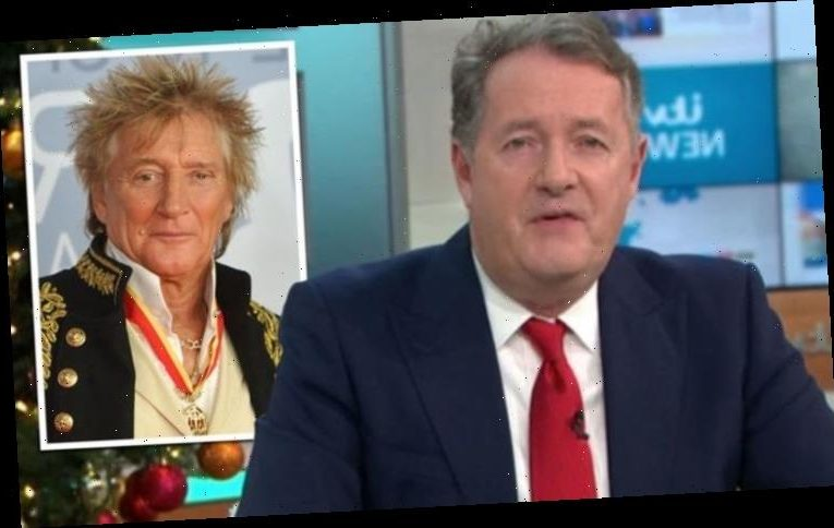 Piers Morgan: GMB star says Rod Stewart would 'happily volunteer' to have COVID vaccine