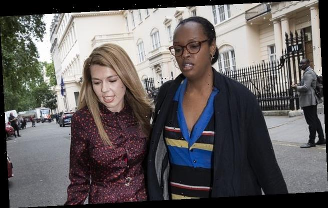 Carrie Symonds's best friend handed £350-a-day adviser role
