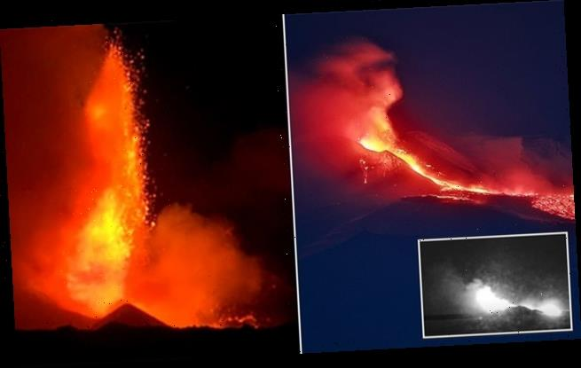 Massive Mount Etna eruption sends lava shooting 320 feet into the air
