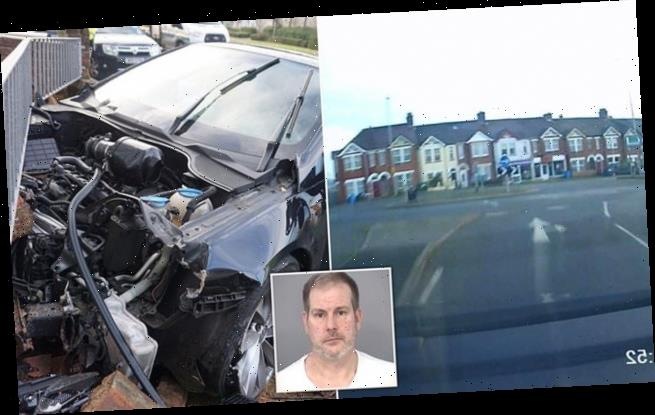 Drink driver loses control on residential street at 93mph