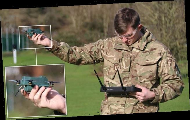 Drones: British Army is testing autonomous flying 'bug drones'