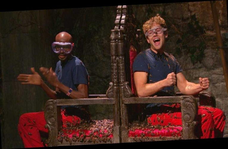 I'm A Celebrity fans hail Mo Farah for dodging bugs by 'dancing' while AJ Pritchard got blasted with critters