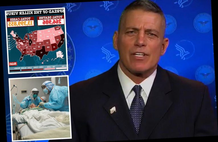 Warp Speed boss vows Covid vaccine will be available to '100% of Americans by June' as Cali and NY hospitals are overrun – The Sun