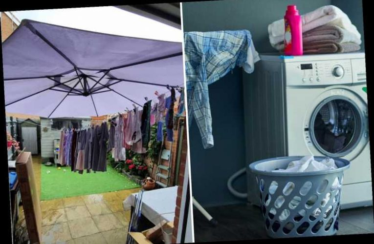Professional cleaner shares quick hacks to get your washing dry inside in super quick time