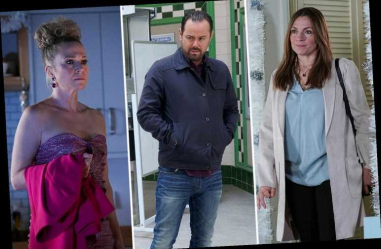 EastEnders' Danny Dyer, Kellie Bright and Simone Lahbib were allowed to be close for heartbreaking NYE storyline