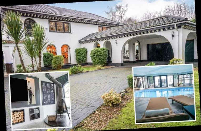 Luxury five-bedroom Spanish-style villa in SHEFFIELD sells for £1m-plus