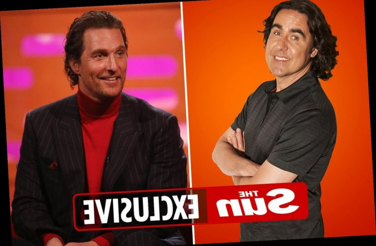 Micky Flanagan reveals secret feud with Matthew McConaughey after grilling star about flashing his todger
