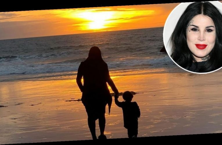 Kat Von D and More Celeb Families' 2020 Beach Pics
