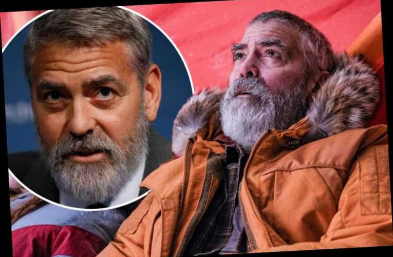 George Clooney was 'hospitalized with pancreatitis' after losing 30 pounds 'too fast' for new role in The Midnight Sky