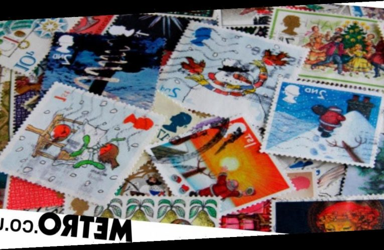 Saving your used Christmas card stamps is an easy way to support charities
