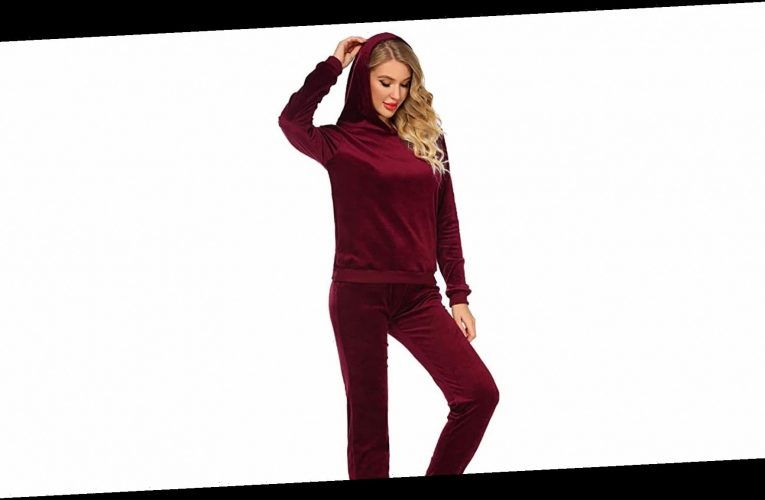 Velour Is Back in Style, and This Sweatsuit Totally Nails the Trend