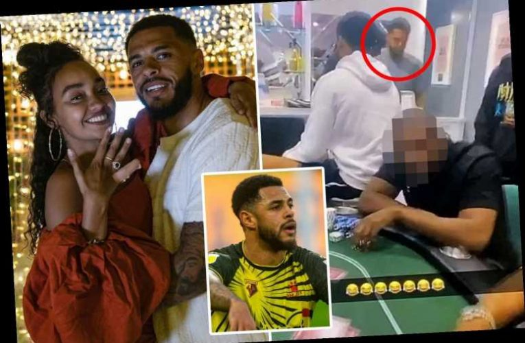 Little Mix star Leigh-Anne Pinnock's Watford ace fiance Andre Gray flouts lockdown rules to hold illegal poker party