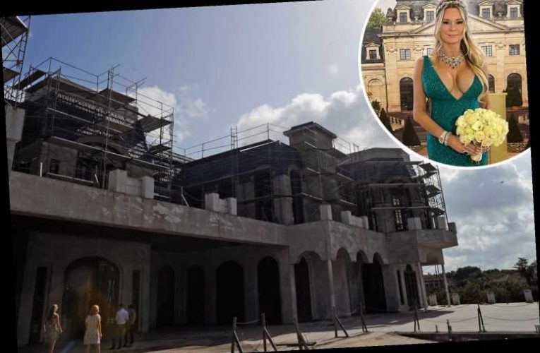 'Queen of Versailles' Jackie Siegel's 13-bedroom mega-mansion FINALLY nears completion after a death, recession and fire