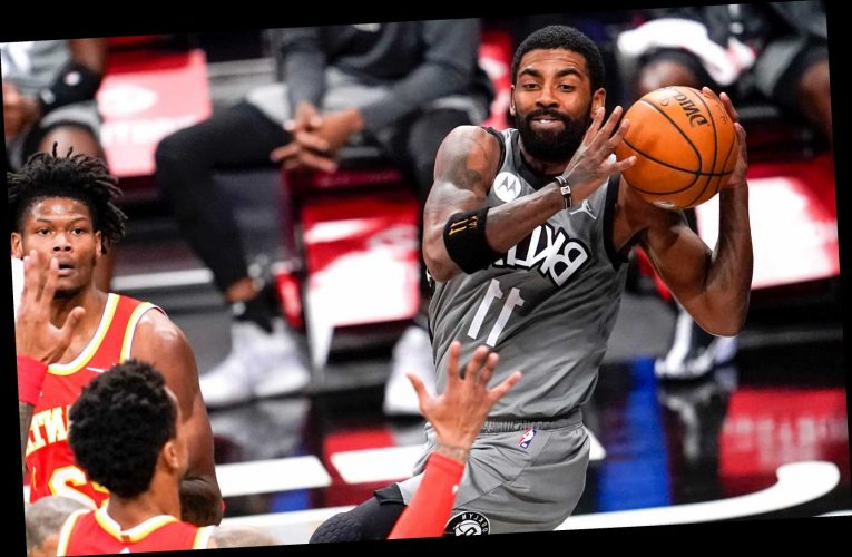 Kevin Durant, Kyrie Irving lead Nets to shootout win over Hawks