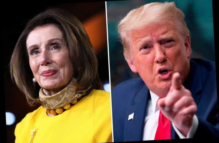 Nancy Pelosi wants to pull Trump out of White House by 'his HAIR, his little hands and feet'