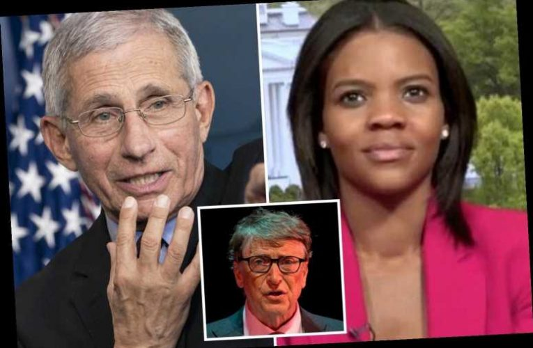Candace Owens shockingly calls Dr Fauci and Bill Gates 'pure evil' in wild attack