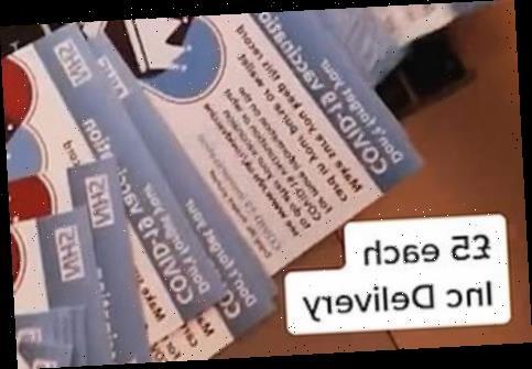 Tiktok user selling fake 'black market' Covid vaccine cards for just £5