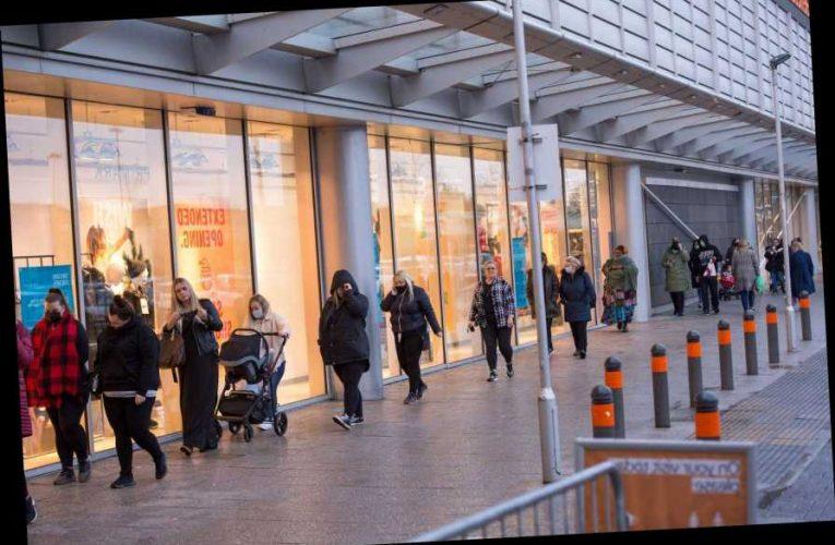 Hundreds of Primark shoppers queue overnight for 36-hour shopping bonanza