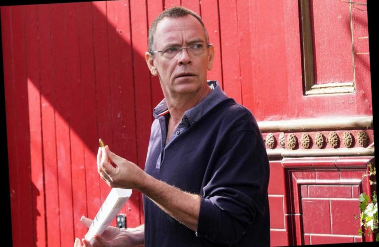 EastEnders' Ian Beale horrified as he receives a bullet in the post after brutal attack