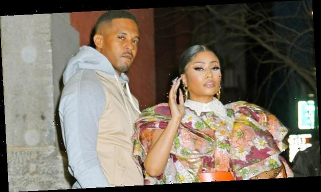 Nicki Minaj Is A Sparkling Goddess Post-Baby On Christmas Day In Sexy Pic With Kenneth Petty