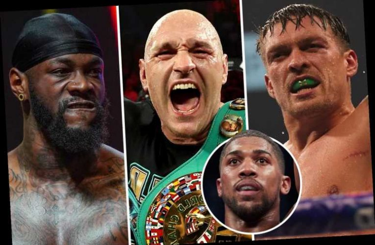 Five potential next opponents for Anthony Joshua with Tyson Fury favourite but Usyk and Wilder fights possible