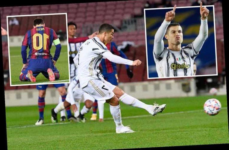 Barcelona 0 Juventus 3: Cristiano Ronaldo scores twice on Spanish return as Old Lady pinch top spot