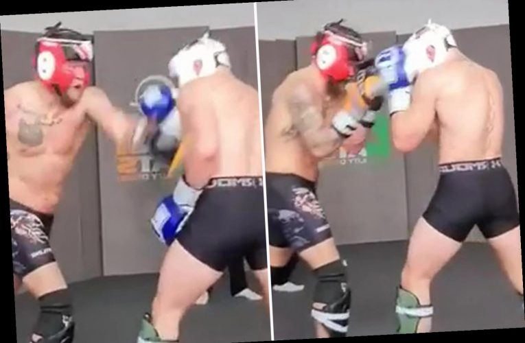 Conor McGregor releases training footage showing lightning reactions as UFC coach calls him 'stone cold killer'