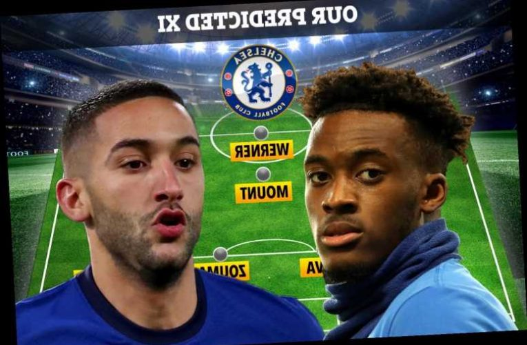 How Chelsea could line-up at Arsenal on Boxing Day with Hakim Ziyech OUT but Hudson-Odoi could be back in starting XI