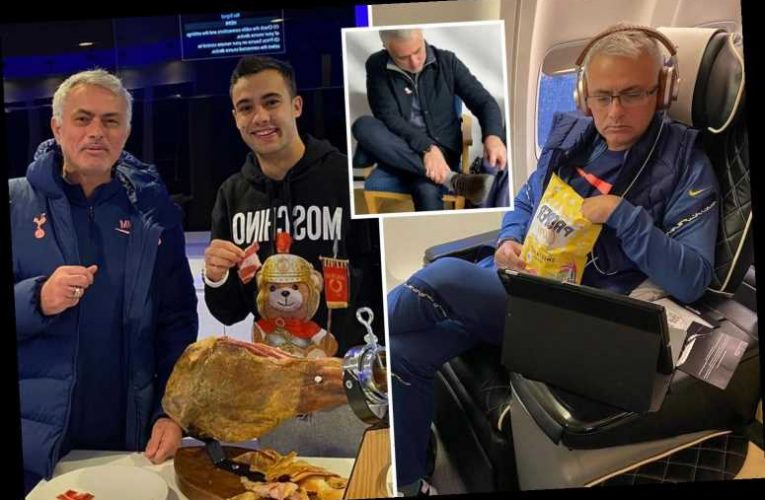 Jose Mourinho's funny Instagram posts, from eating popcorn to calling Spurs stars out for their mobile phone obsession