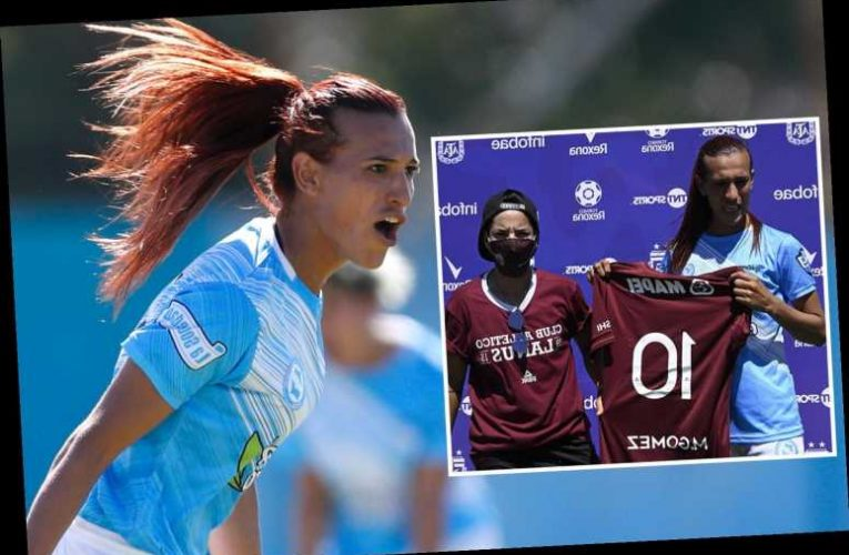 Transgender star Mara Gomez finally makes debut for Argentine side 11 months after signing to become first at pro level
