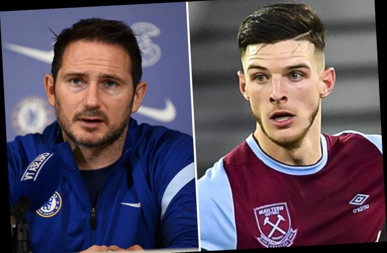 Chelsea deserve credit for Declan Rice's rise to stardom despite giving him boot age 14, claims Frank Lampard