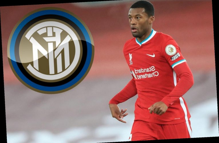 Inter Milan join Barcelona in race for Liverpool star Georginio Wijnaldum with midfielder available on a free in summer