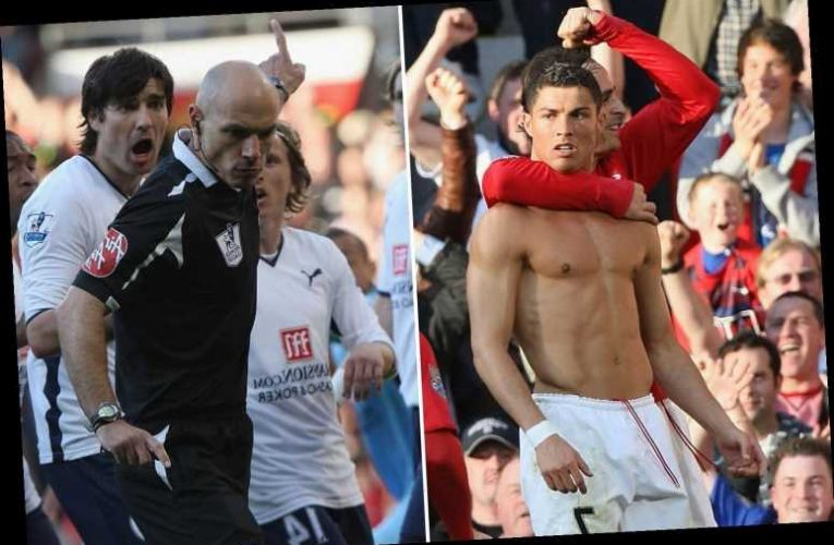 Howard Webb desperately wanted Cristiano Ronaldo to MISS penalty for Man Utd after 'biggest mistake of his career' – The Sun