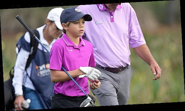 Charlie Woods: 5 Things About Tiger's Son, 11, Who Played His 1st Pro Golf Competition