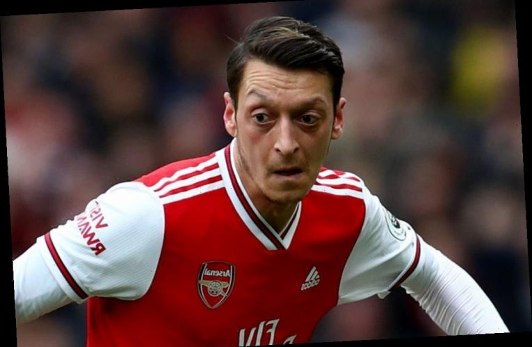 Arsenal outcast Mesut Ozil 'holds transfer talks with Fenerbahce' and could be forced into taking £200k-a-week wage cut