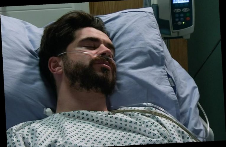 Coronation Street's Adam Barlow claims uncle Peter tried to kill him in brutal attack