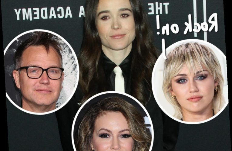 Miley Cyrus, Alyssa Milano, & More Applaud Elliot Page For Coming Out As Transgender!