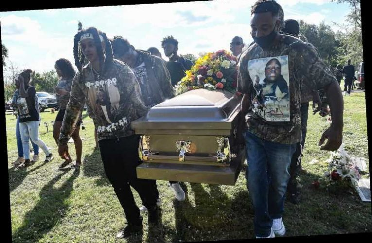 Mother Shot at the Funeral for Her Son Who Was Killed by Officers