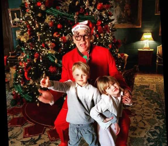 Prince Albert of Monaco Wore His Most Festive Outfit Ever to Celebrate Christmas